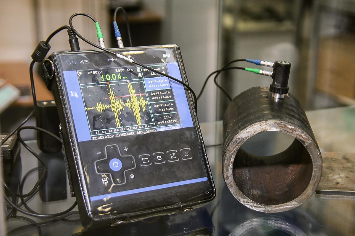 Ультразвуковий товщиномір з A-сканом UIT UTE 45